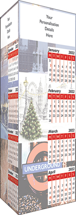 London Tower Calendar