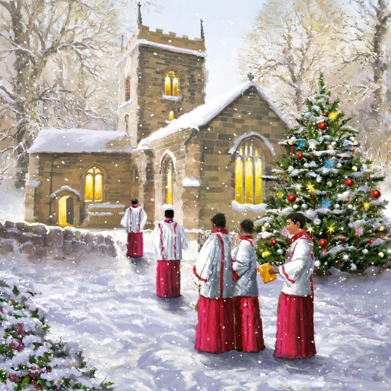 CHURCH CHOIR | Traditional Christmas Cards