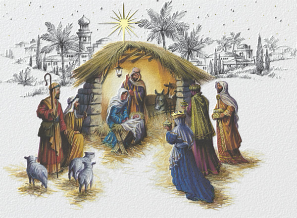 Religious Christmas Cards.Christmas Nativity Religious Christmas Cards
