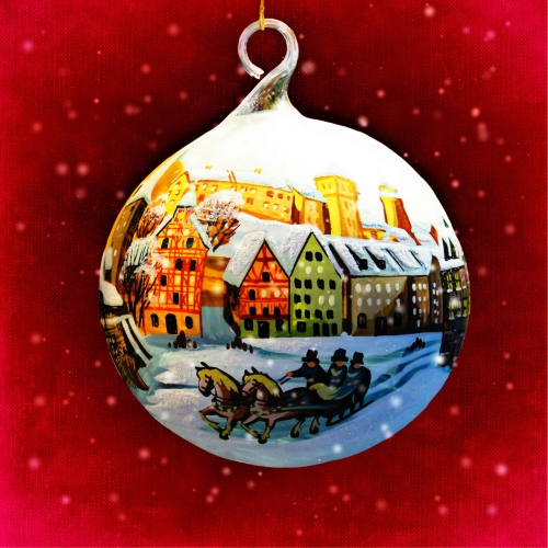 Village Bauble