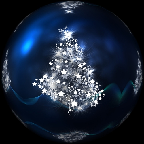 Glass Tree Bauble