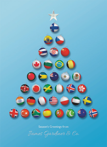 World Bauble Tree